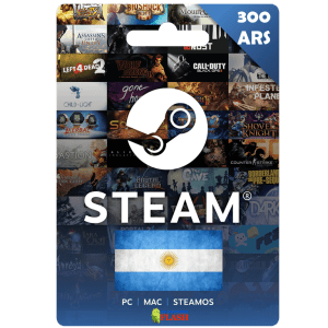 Steam Wallet Code 300 ARS (Argentina) Cheap