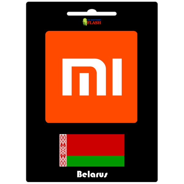 Remove Xiaomi Mi Account Official Service (Belarus)