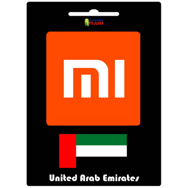 Remove Xiaomi Mi Account Official Service (United Arab Emirates UAE)