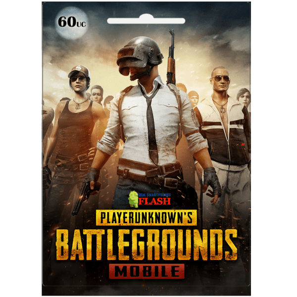 Pubg Mobile 60 UC Global Card (Best price)