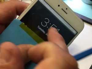 problème tactile sur carte mère iPhone 6 plus touch disease