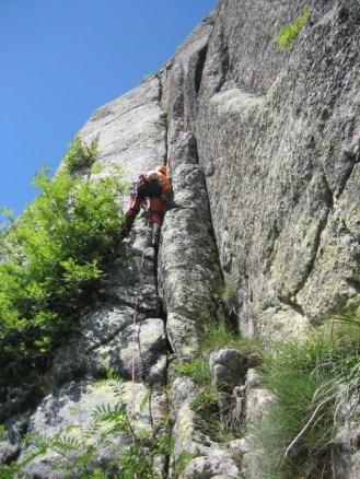 Y por supuesto escalamos....