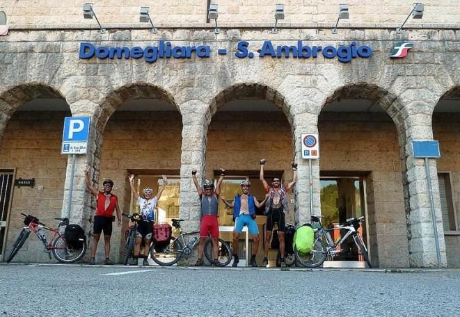 Y llegamos a nuestra meta, Domegliara - S Ambrogio tras 620 kms de travesía por los Alpes (por Pepe)
