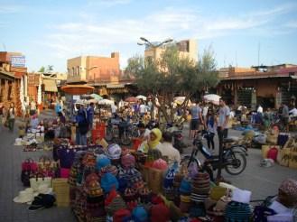 Gran zoco de Marrakech.