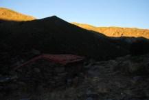 Amanecer en el Refugio de la Redonda (Foto Luis M. Villar)