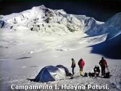 Campamento I. Huayna Potosí