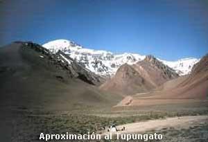 Aproximación al Tupungato