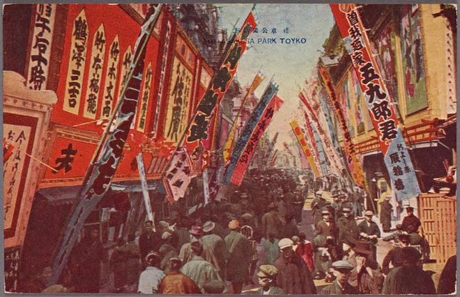 Vẻ đẹp quá khứ của Tokyo từ thế kỷ 12 được thể hiện chân thực qua những bức vẽ và ảnh chụp quý giá - Ảnh 16.