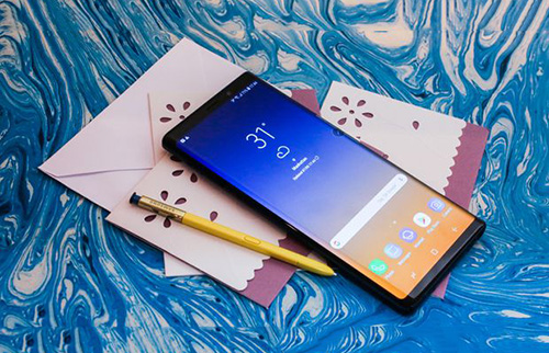 Samsung Galaxy Note 9 �Sthach thuc� iPhone X
