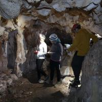 La sala iniziale della Grotta delle Cento Camere