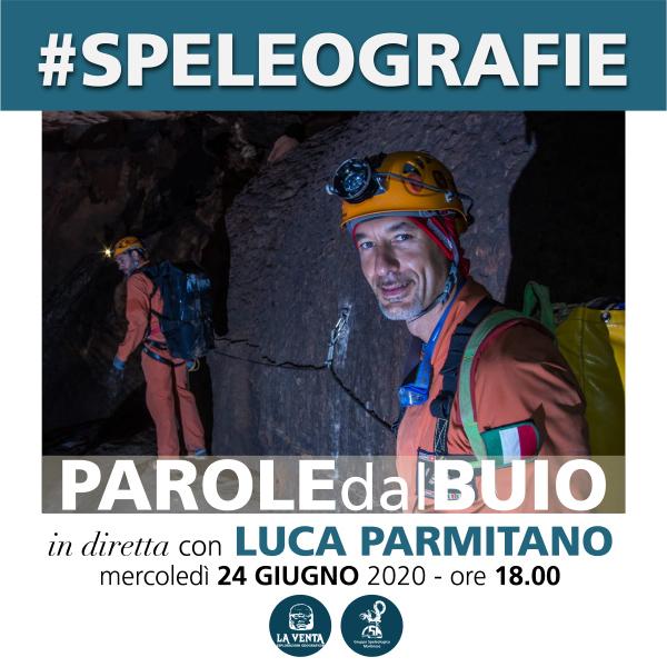 Speleolgrafie con Luca Parmitano