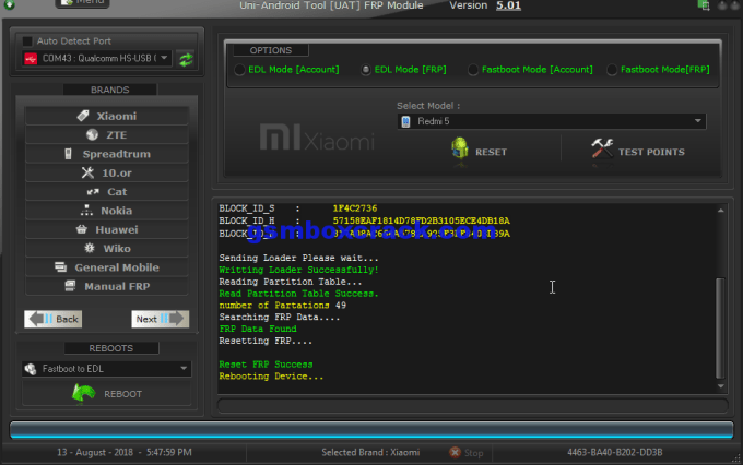 Uni-Android Tool [UAT] FRP Module V5.01 Download