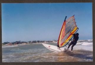 Navegando en Windsurf - Mayo 1.998