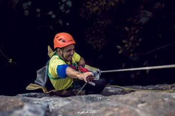 2013.11_Inicio de los entrenamientos para escalar el Morro de San Juan. Explorando opciones en el Parque Las Cuevas del Indio
