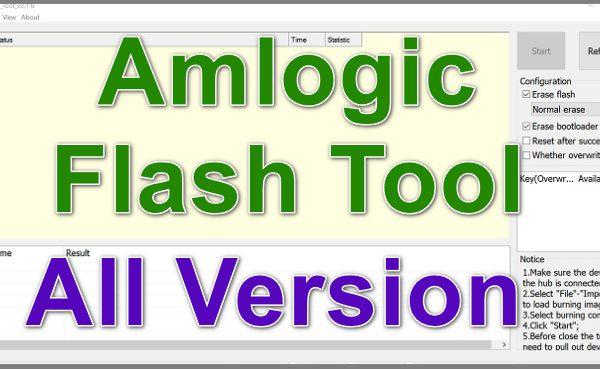 Amlogic Flash Tool Ver 2020 Free Download Working 100% 1