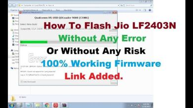 Photo of Jiophone LYF LF-2403n Stock Firmware Download – 2019