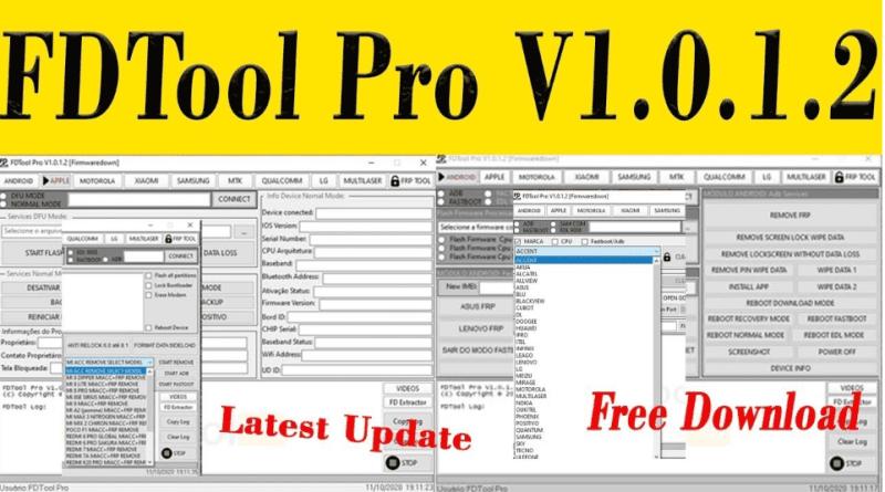 FDTools Pro V1.0.1.2 Free Tools Samsung/OPPO/VIVO/Xiaomi/Qualcomm