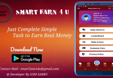 Smart Earn 4 U | Real Money App| Earning App