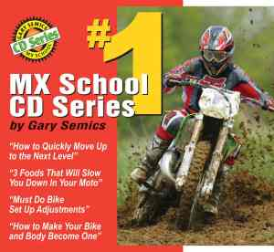 GSMXS Motocross Training CD 1 front cover