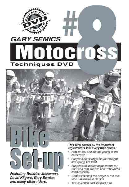 motocross bike setup