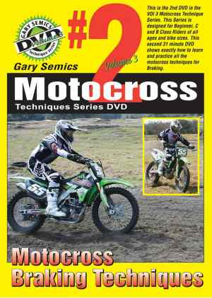 GSMXS Motocross Braking Techniques front cover