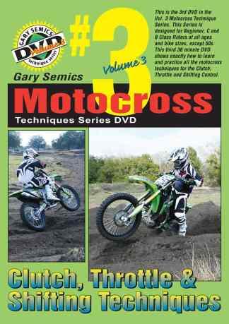 motocross Clutch Throttle Shifting Techniques