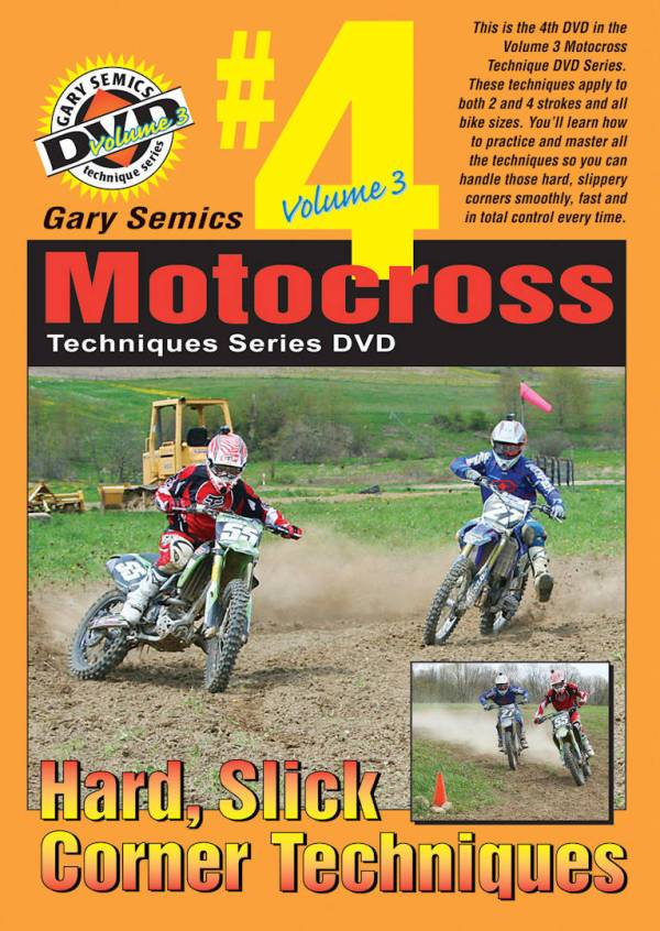 Motocross Hard Packed Cornering Techniques