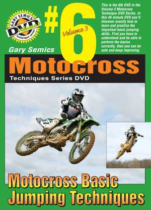 GSMXS MX Basic Jumping Techniques front cover