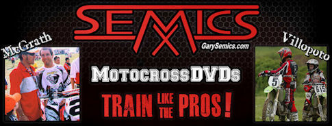 Motocrossdvds.com Buy Motocross Technique & Training DVDs by Gary Semics