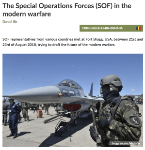 Global SOF Foundation in the News