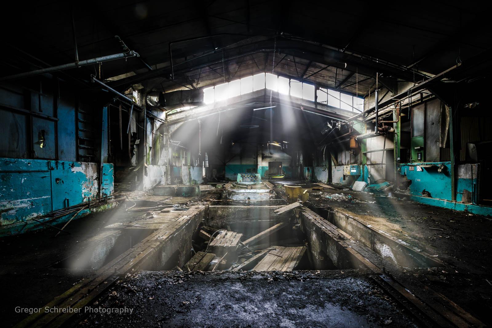 Lost Places - Papierfabrik