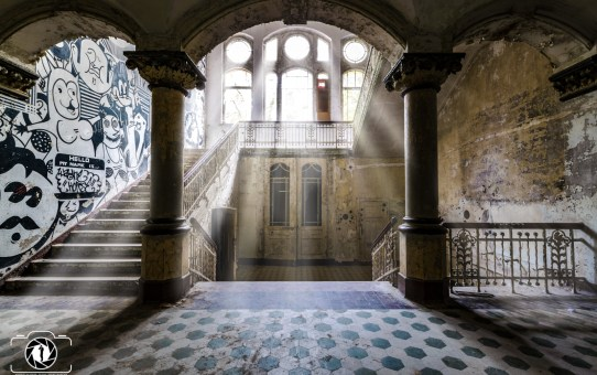 Lost Places - Beelitz Heilstätten - Whitney Houston Haus