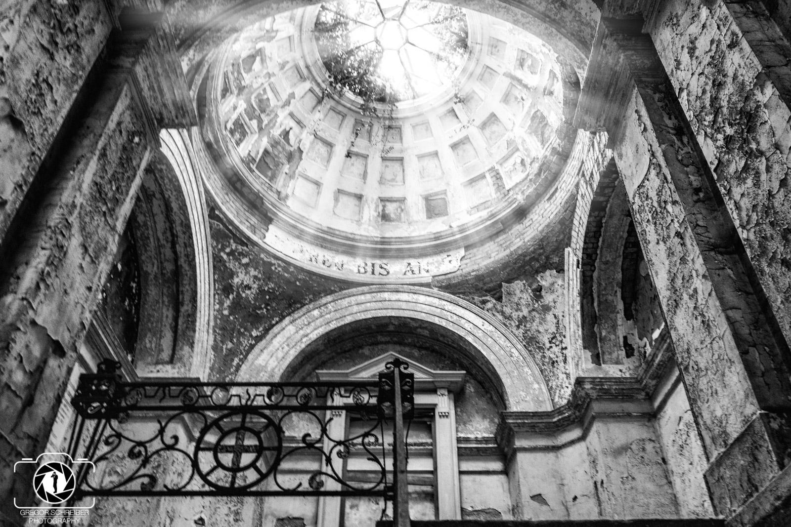 Mausoleum Kork - Lost Place