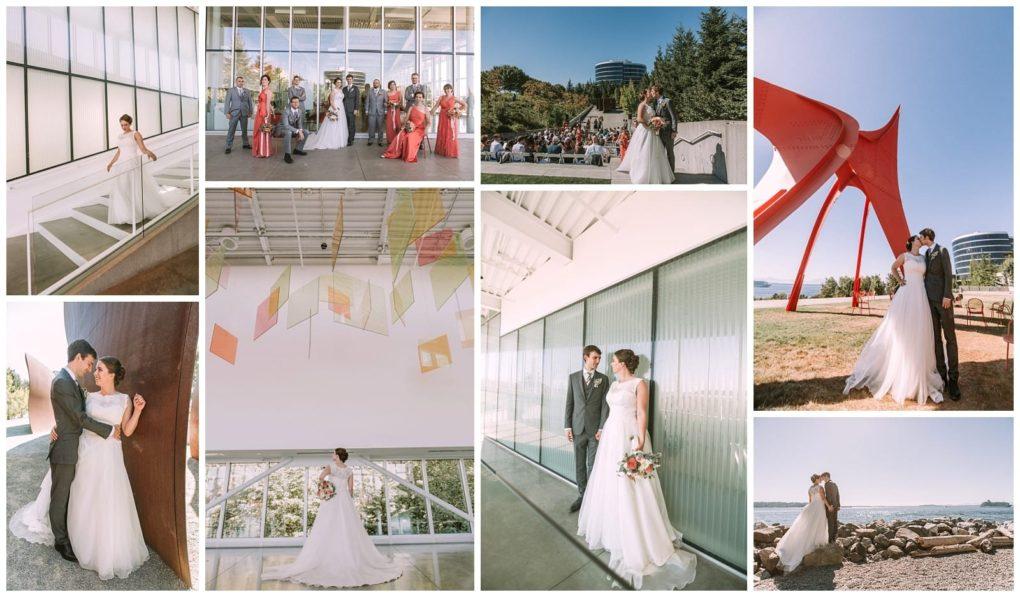 olympicsculptureparkwashingtonweddingvenues01 Seattle and Snohomish Wedding and Engagement Photography by GSquared Weddings Photography