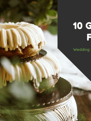 gluten free wedding catering and bakers