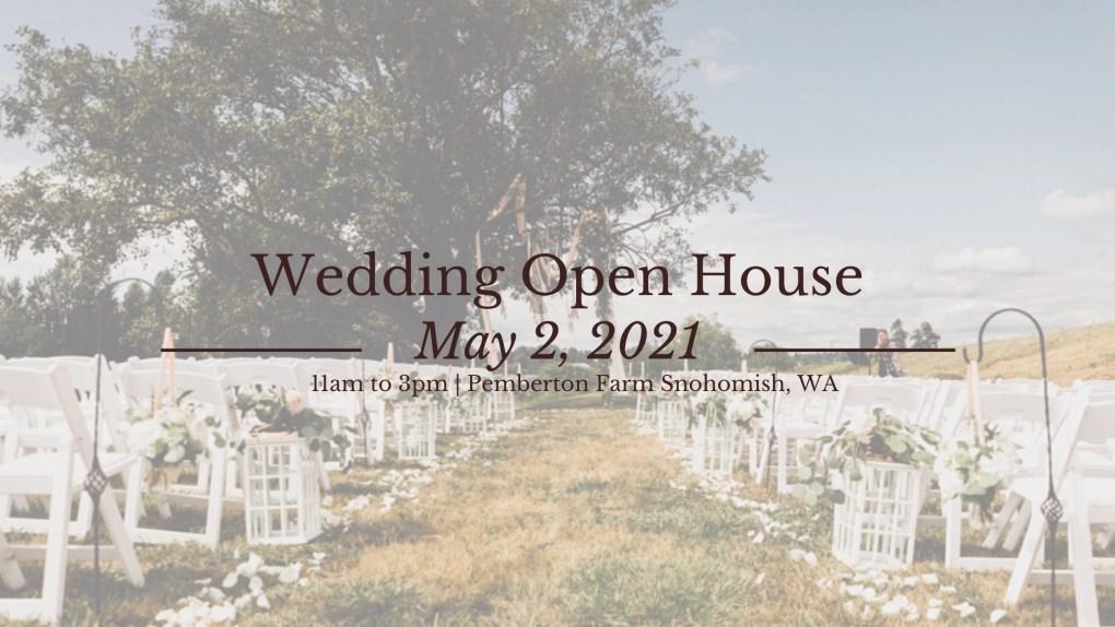 Spring Wedding Open House