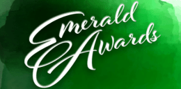 Emerald Awards Header - Watercolor