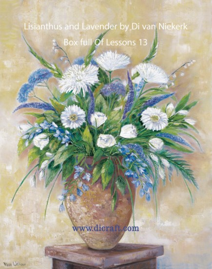 Lisianthus and Lavender Box full of lessons 13