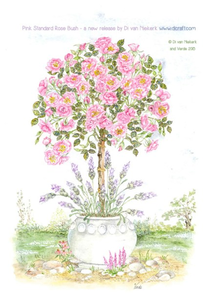 Pink Standard Rose