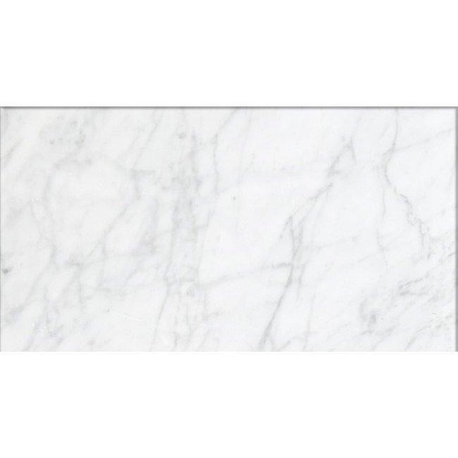 bianco carrara marble 12 x 24 honed