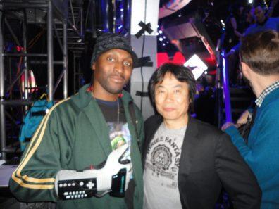 TriForce w/ The Legend Shigeru Miyamoto