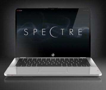 HP Envy 14 Spectre - Front Open View