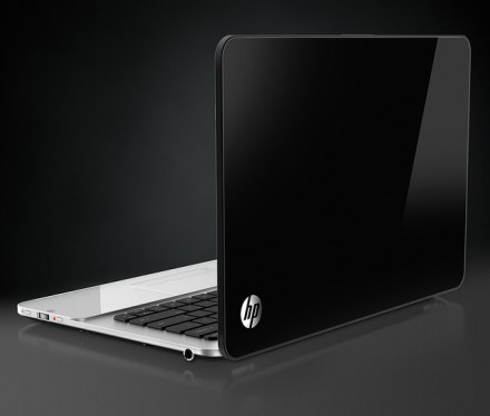 HP Envy 14 Spectre - Rear Right View