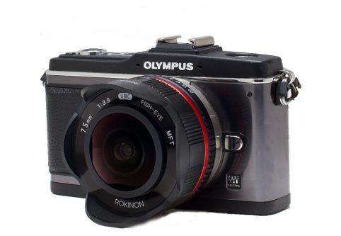 FE7.5mm Black on Camera