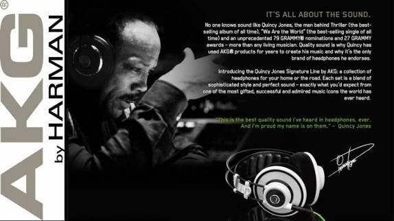 AKG Quincy Jones Statement