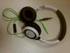 Quincy Jones Q460 Mini On Ear Headphones