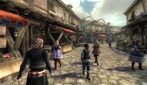 The Last Story ruli City