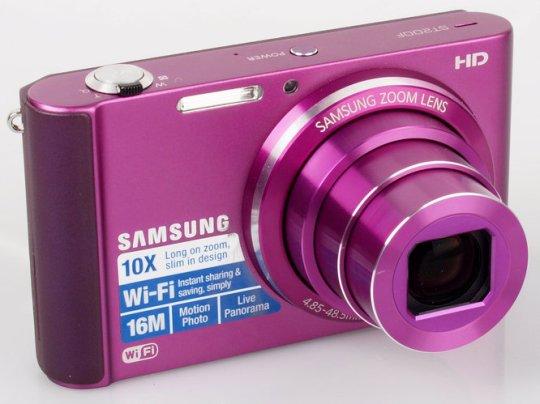 Samsung ST200F Longzoom Smart Camera - Purple