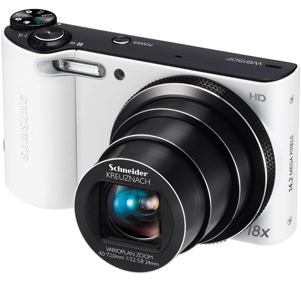 Samsung WB150F Smart Camera - White