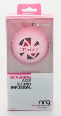 Matrix NRG - Pink Speaker in Package